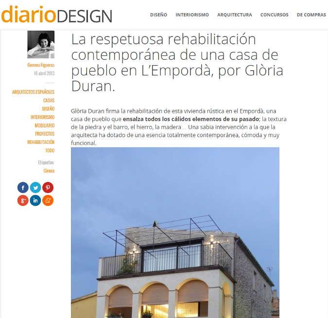 Diario Design Abril 2013