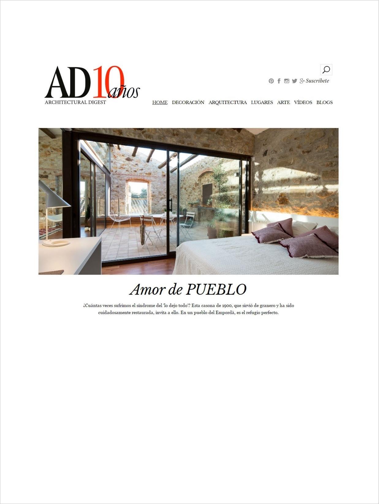 Portada_AD_España_revista_tras_samaria_14_pals_casa_en_venta_cases_singulars_emporda_2