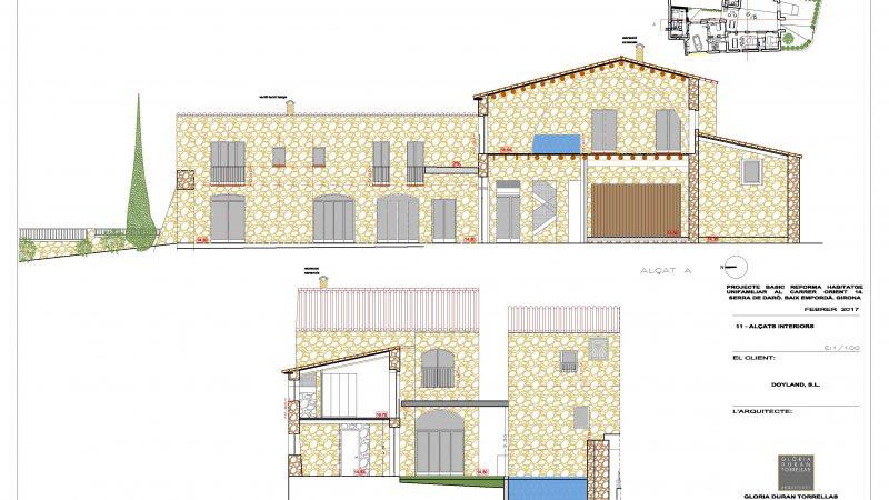 Casa en venta serra de daró empordà Mas Sunyer Cases Singulars de L' Empordà