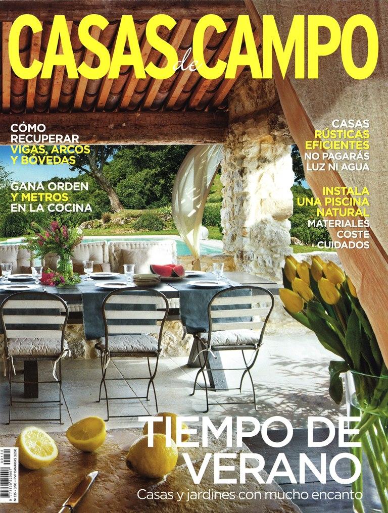 Revista CASAS DE CAMPO reportaje Cases Singulars de L' Empordà núm 135 Agosto 2015