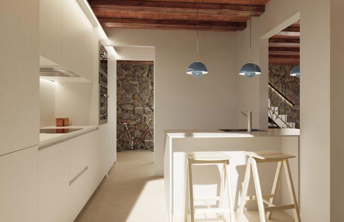 casa rehabilitada en venta en Santa Cristina d' Aro Baix Empordà Girona Costa Brava Empordà jardín